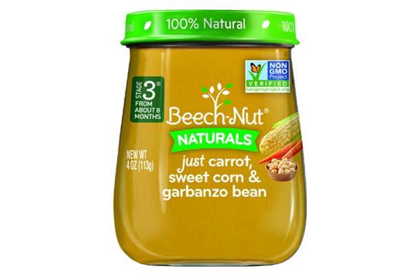 beechnut organic baby food